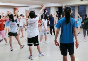 サニーグループよさこい踊り子隊SUNNYS 第1回 練習取材 003