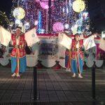 冬のよさこい鳴子踊りin高知(桜舞ポーランド国際チーム日本支部)